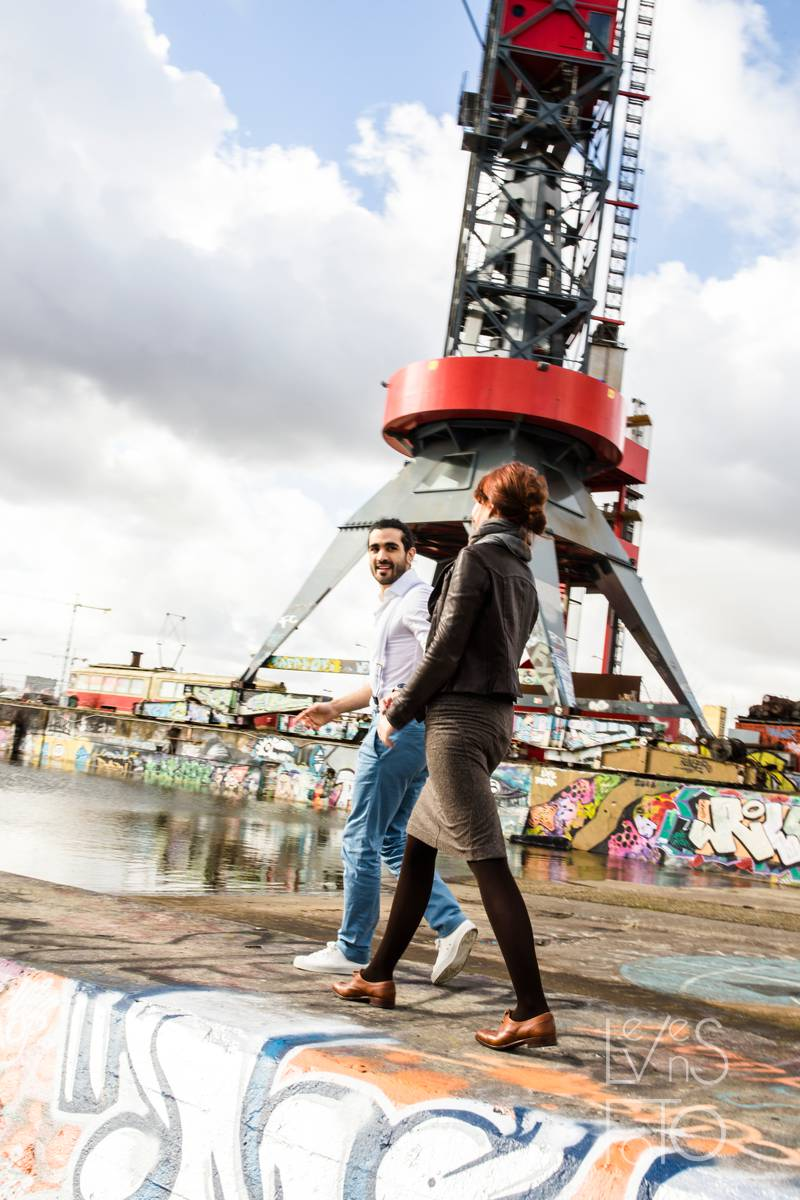 LevensFoto - Loveshoot Urban Amsterdam Anne en Samy -036