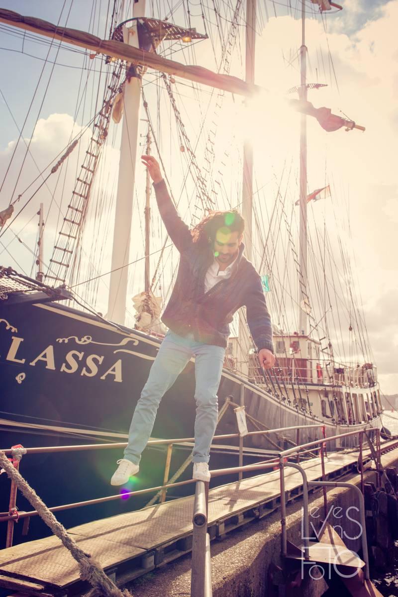 LevensFoto - Tour d'amour Amsterdam Loveshoot Urban Amsterdam Anne en Samy