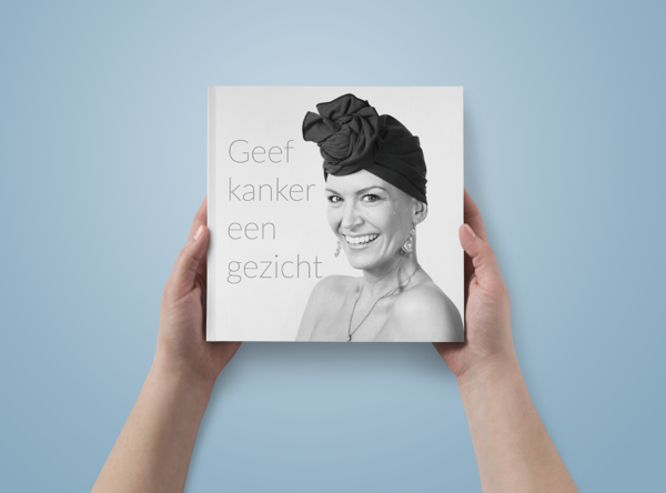 Geef kanker een gezicht boek