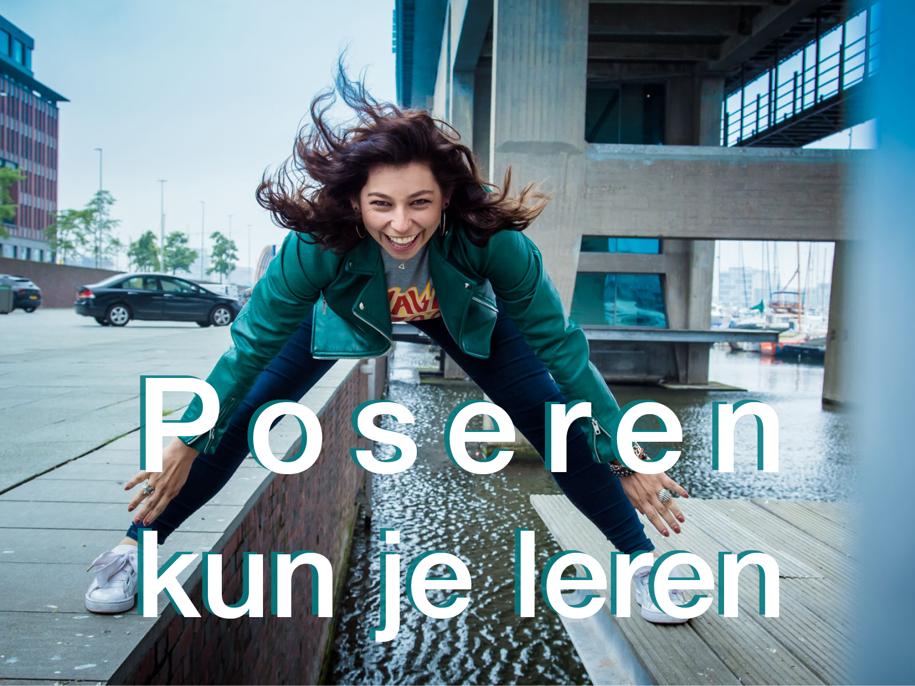 Poseren kun je leren opgeven - banner kort3