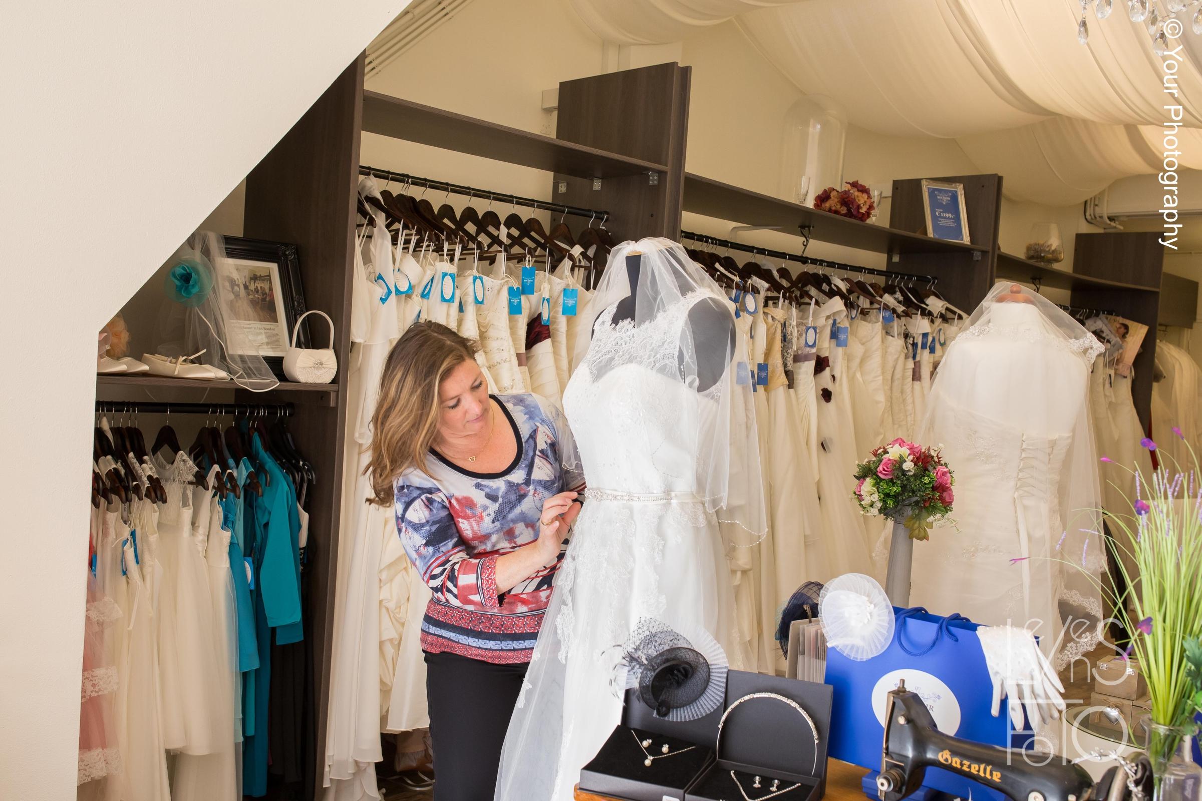 LevensFoto - Het Boudoir - bruidswinkel Hoorn Bedrijfsfotografie