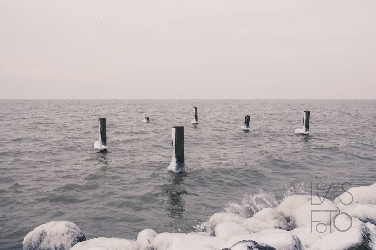 LevensFoto - Hoorn, sneeuw, ijs, ijsselmeer