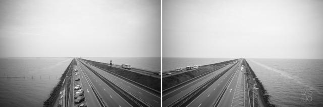 LevensFoto Monument op de Afsluitdijk