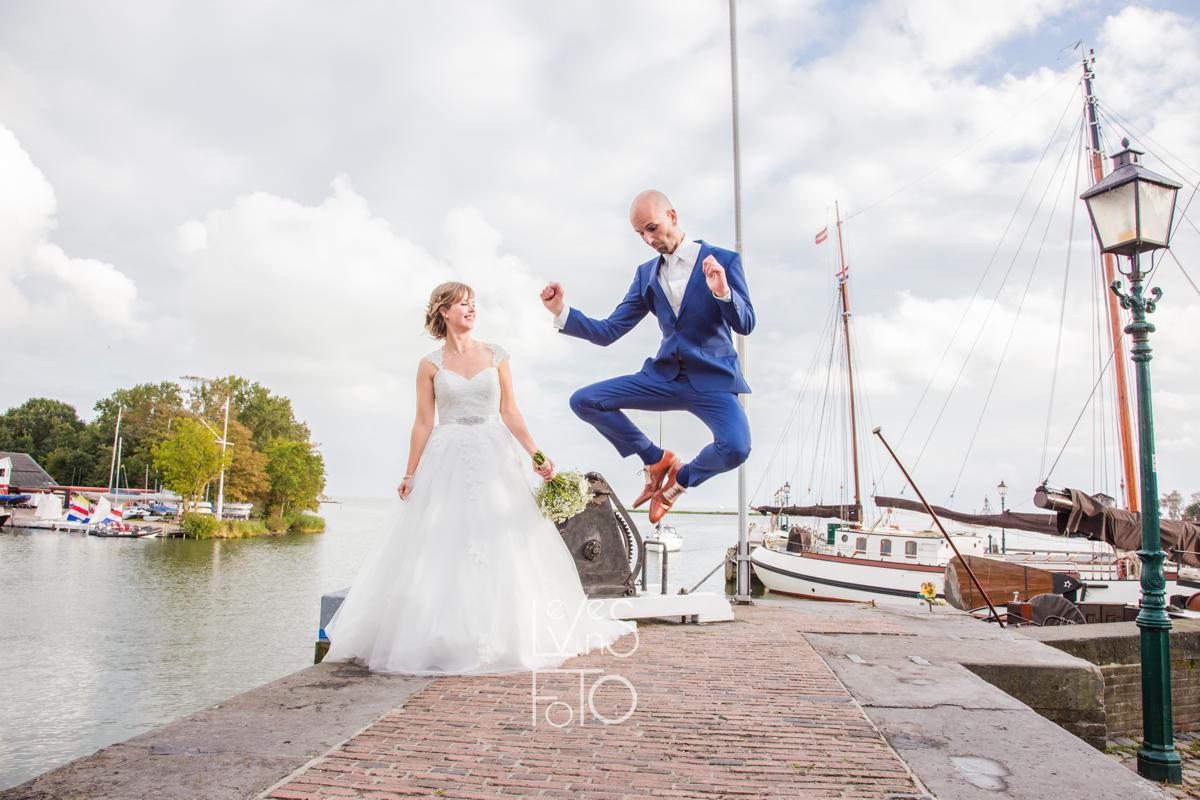 LevensFoto - huwelijk binnenstad van Hoorn in Huis Verloren