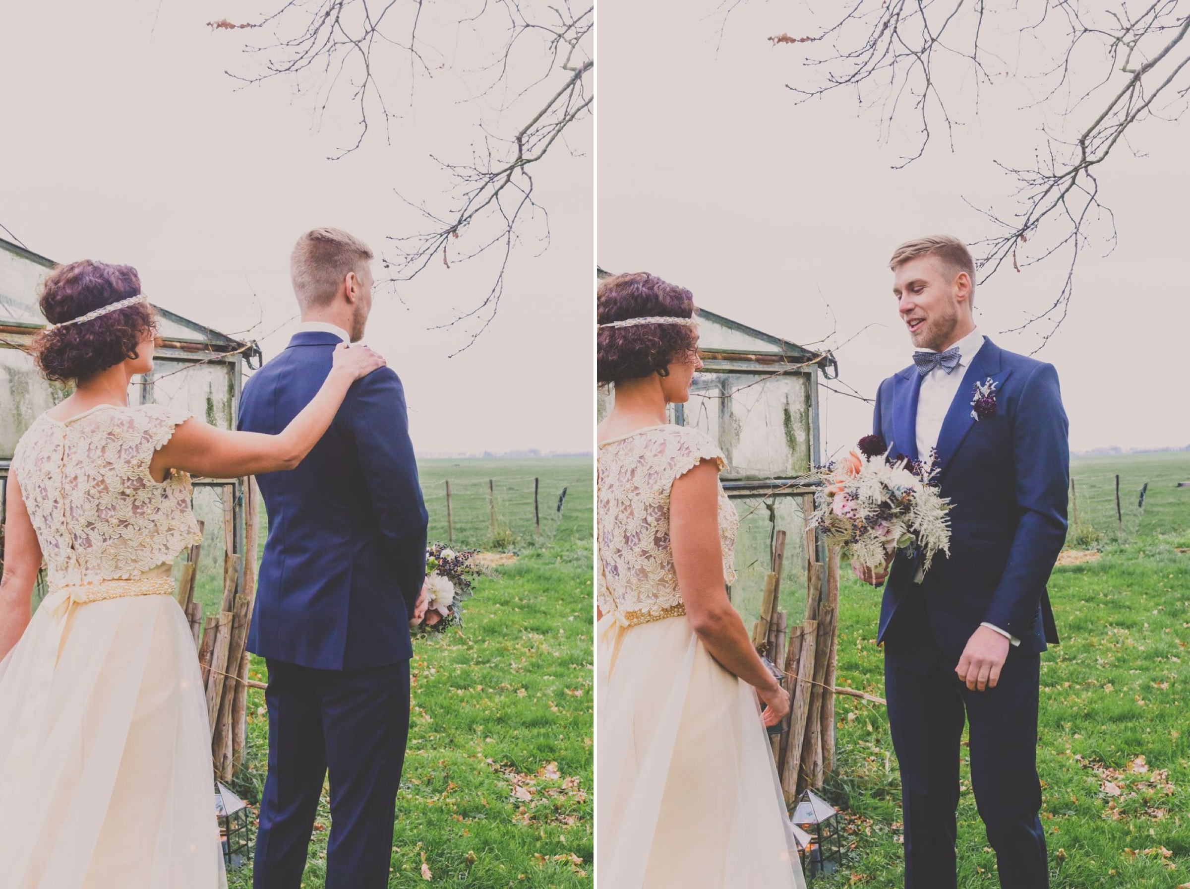 first look, elkaar voor de eerste keer zien op je bruiloft
