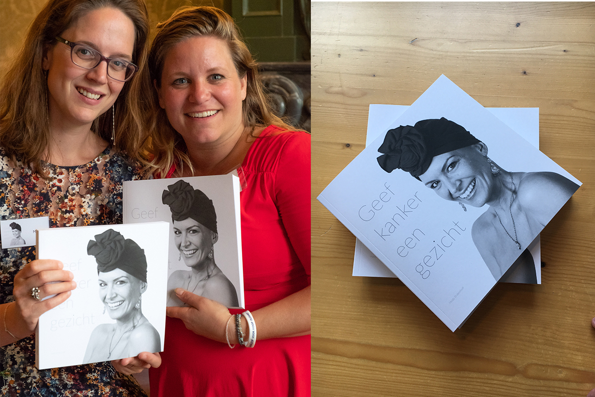LevensFoto - Merel en Heidy Geef kanker een gezicht