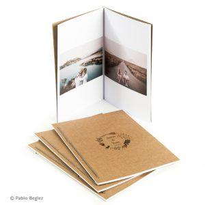 LevensFoto mini fotoboekje, zigzag fotoboekje