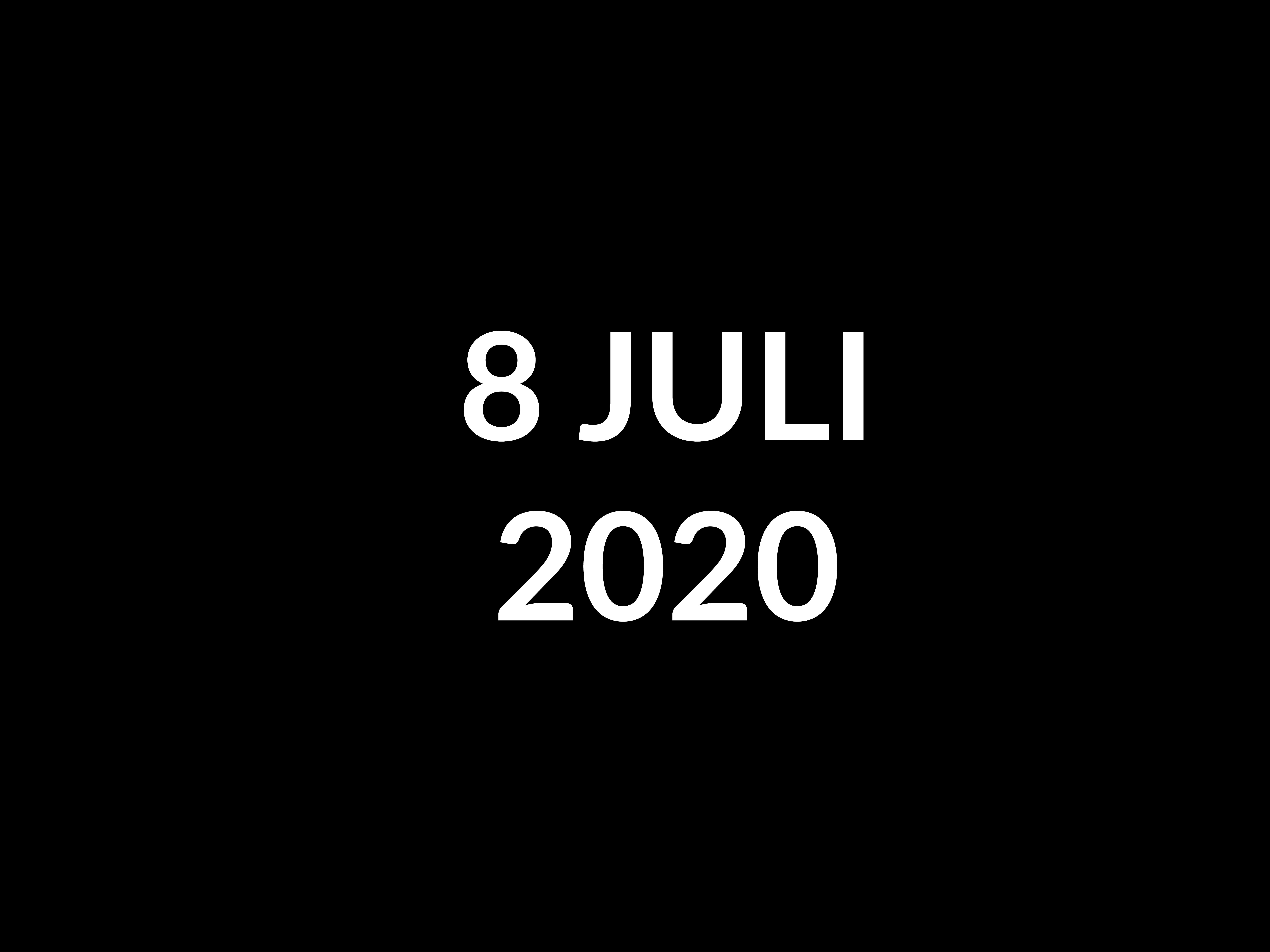 POSEREN KUN JJE LEREN, JUL 2020-8 JULI 2020